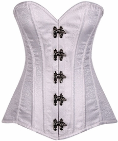 Top Drawer Brocade Steel Boned Corset w/Clasps