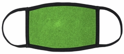 Green Fabric Face Mask