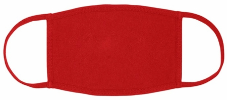Red Fabric Face Mask