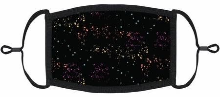 Rainbow Galaxy Fabric Face Mask