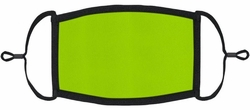 YOUTH SIZE - Neon Green Fabric Mask