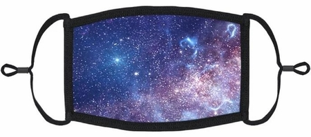 YOUTH SIZE - Galaxy Fabric Face Mask