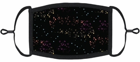 YOUTH SIZE - Rainbow Galaxy Fabric Face Mask