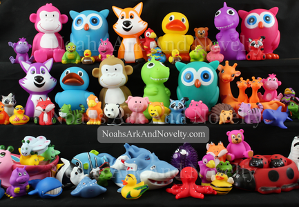 Rubber Animals & Characters