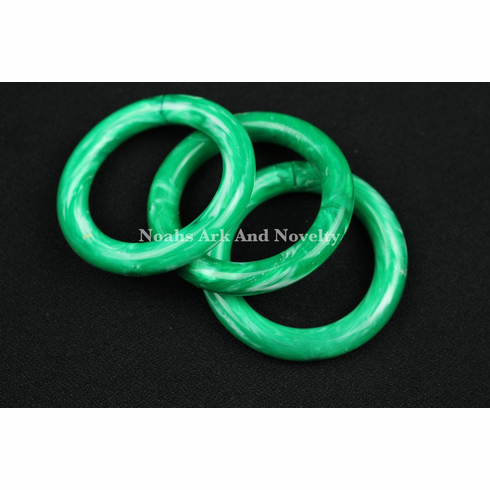 2 3/8 in. Green Marbella Ring