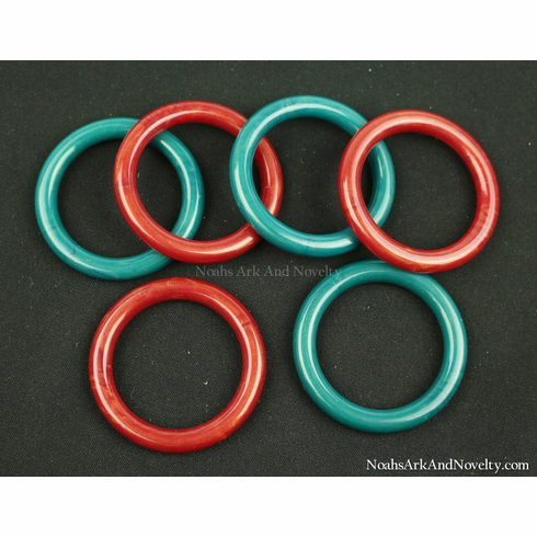 """2"""" Pearlized Marbella Rings - 1 PC"""