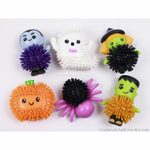 Halloween Spiky Characters - 6 PK