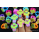 Rubber Cactus Ring Charms - 2 DZ