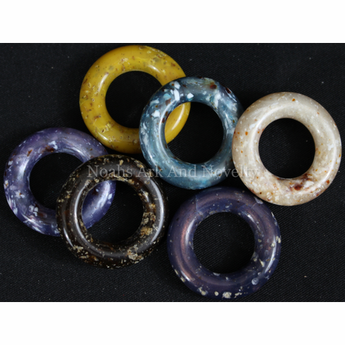 29mm Pearlized Granite Marbella Pulley Rings