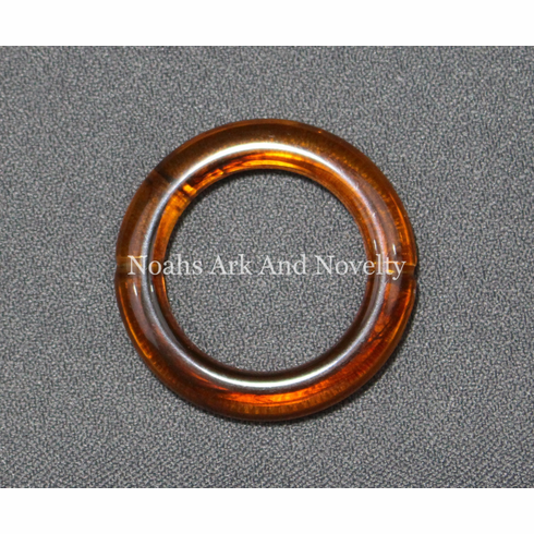 """1 7/8"""" Transparent Marbled Ring"""