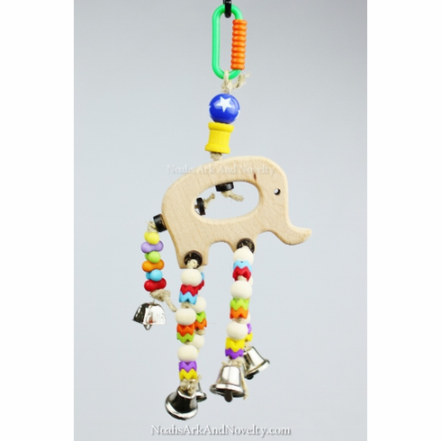Elephants On Parade Bird Toy