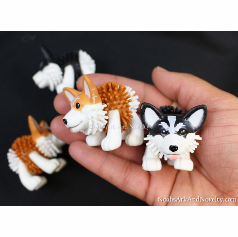 Spiky Hedge Dog - 4 PK
