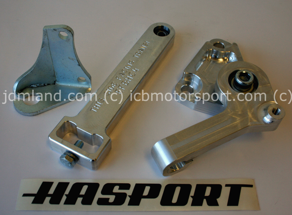 Hasport Mounts Clutch Conversion Lever Assembly for B-Series Hydraulic Trans.