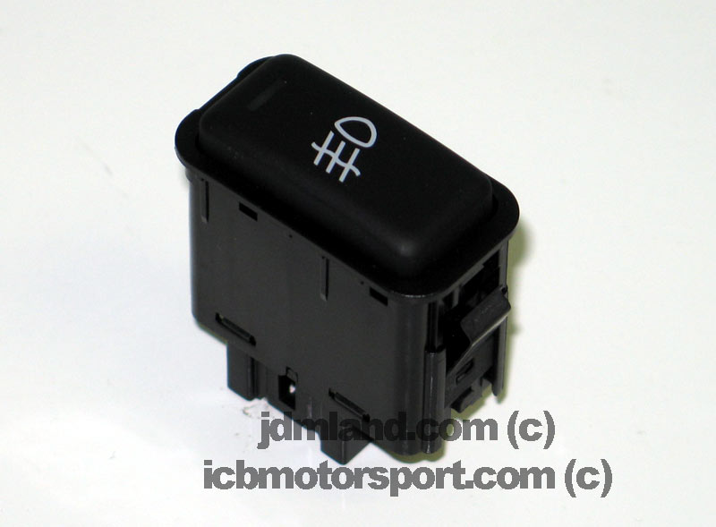 JDM DC2 EG2 EG6 EK9 Center Console Fog Light Switch Rare