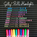 Gelly Roll Moonlight Set of 5 - Dusk