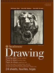 Strathmore 400 Series Smooth Drawing Paper