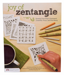 Joy of Zentangle by Suzanne McNeill & Sandy Steen Bartholomew (Out of Stock)