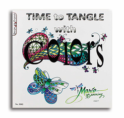 Time to Tangle with Colors by Marie Browning