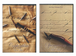 Ron Tate's Spencerian DVD and Copperplate DVD Set