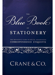 The Blue Book of Stationery by Crane & Co.