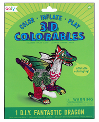 3D Colorables, Fantastic Dragon