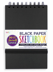 Black DIY Cover Sketchbook