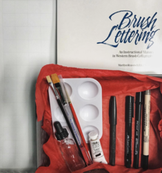 Traditional Brush Lettering Kit with Book