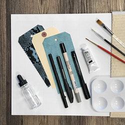 Brush Lettering Kit without Book