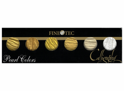 FINETEC Coliro 6 Pearl Colors, Metallic Golds