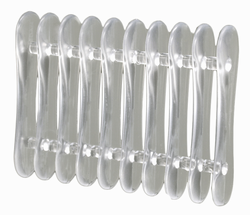 Clear Plastic Pen Rest/ Drying Rack
