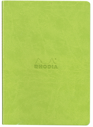 Rhodia A5 Dot Grid Sewn Spine Notebook, Anise