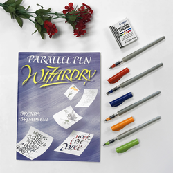 Parallel Pens Kit with Book, Original Sizes