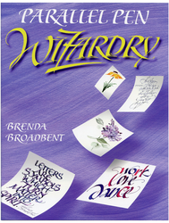 Parallel Pen Wizardry Book by Brenda Broadbent