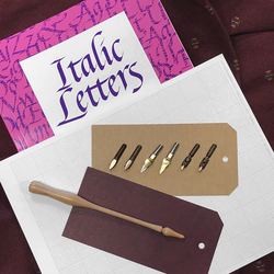 Deluxe Broad Edge Calligraphy Kit with Book