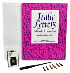 Broad Edge Calligraphy Kit with Book