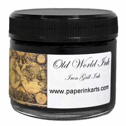 Old World Iron Gall Ink 2 oz, Black