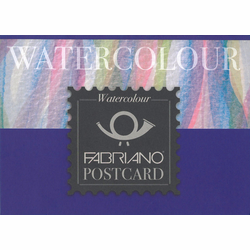 Fabriano Studio Cold Press Watercolor Pads, Postcard Size 20 Sheets