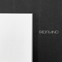 Fabriano EcoQua A4 Glue Bound Dot Notebook