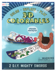 3D Colorables, Mighty Swords