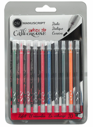 Callicreative Switch Tip Refill Multi-color 10 Pack, Italic