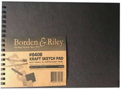 Borden & Riley 840B Kraft Sketch Pad