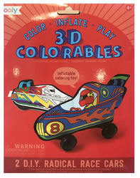 3D Colorables, Radical Race Cars