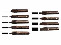 Brause Pen Nib Set of 9