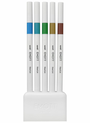Emott Ever Fine Color Liner Set of 5, Island Colors