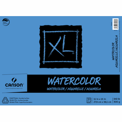 Canson XL Watercolor Pad, 11X15