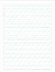 Paper and Ink Arts Spencerian Practice Pad