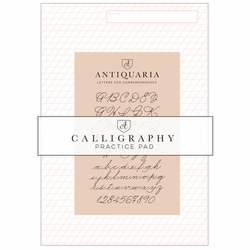 Antiquaria Calligraphy Writing Pad