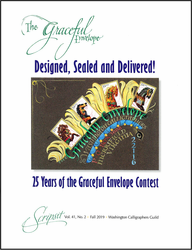 2019 Scripsit Vol. 41, No. 2: 25 Years of the Graceful Envelope Contest (Out of Stock)