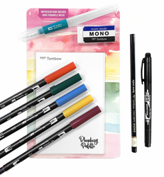 Tombow Dual Brush Pen Watercolor Set