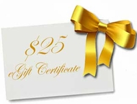 eGift Certificate for $25